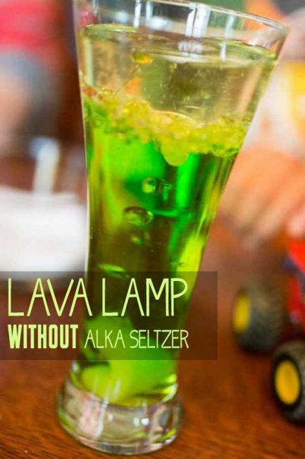 Learn how to make a lava lamp without alka seltzer!