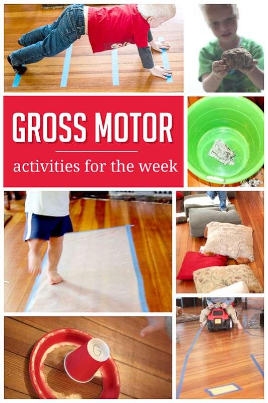 A Sample Weekly Plan of Gross Motor Activities | Hands On ...