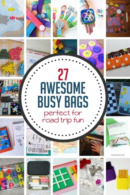 27 Busy Bag Ideas For Road Trips Hands On As We Grow