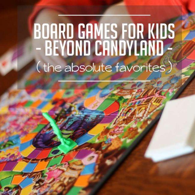 The best, favorite, most beloved, board games for kids!