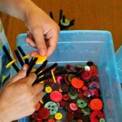 quiet bin activities for kids