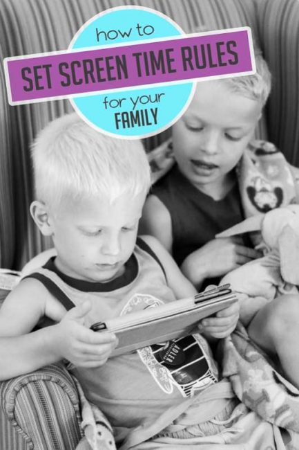 How to set screen time rules for your family