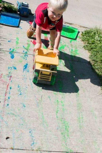 trucks-big-art-painting