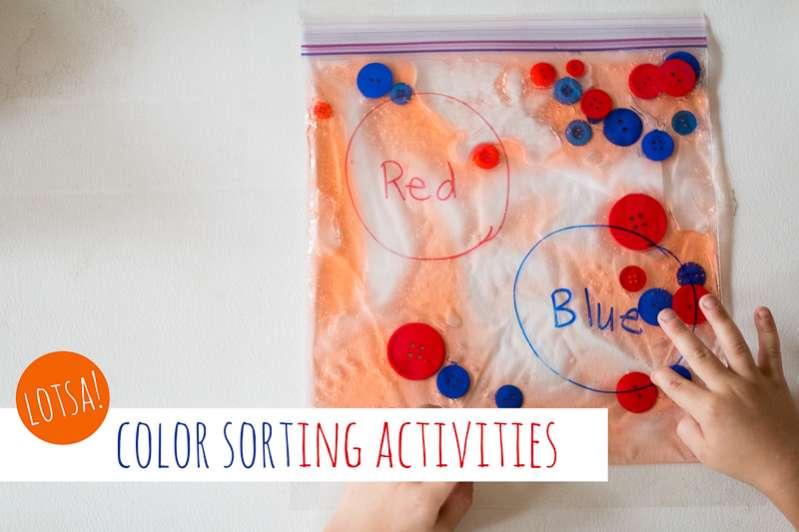 Lotsa Color Activities For Preschoolers Hands On : As We Grow
