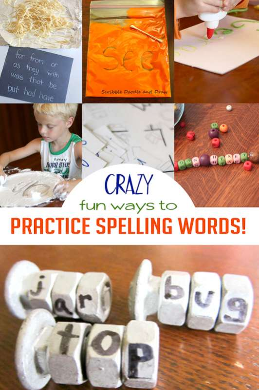 Learn how to help your kids with kindergarten homework - with lots of fun ways and games to practice spelling words too
