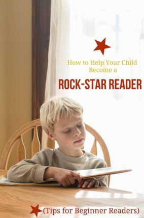 When helping your child learn to read use certain phrases, read, and tell stories! These 6 simple tips will help your beginning reader become a rock-star reader.