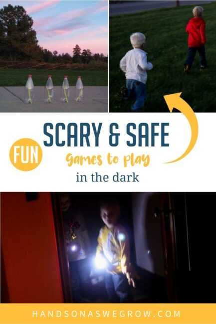 Kids have a bit too much energy right before bed? Catch them by surprise with these fun games to play in the dark to burn off extra energy!