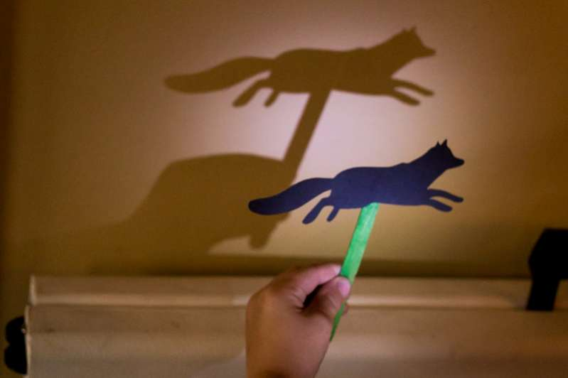 Simple shadow puppets