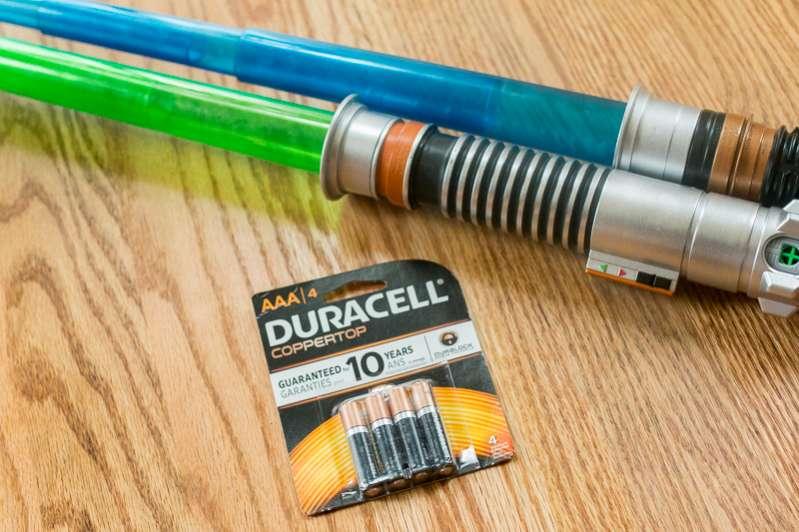 Duracell & Star Wars Lightsabers