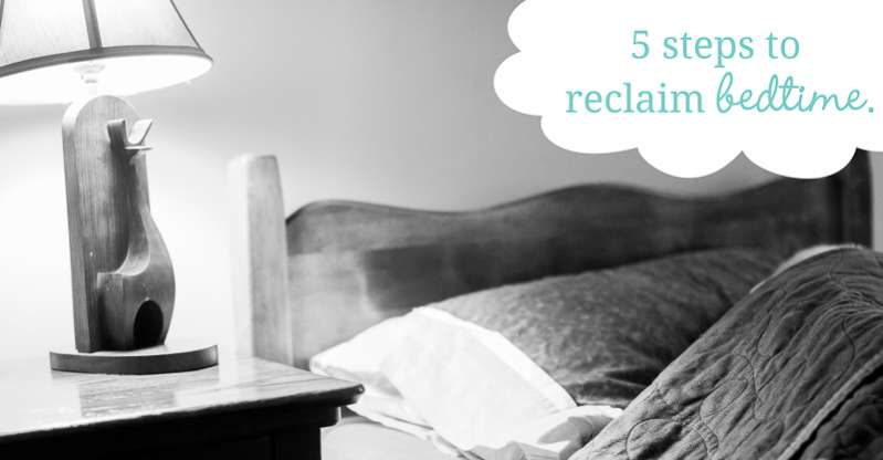 5 simple steps to help make bedtime better.