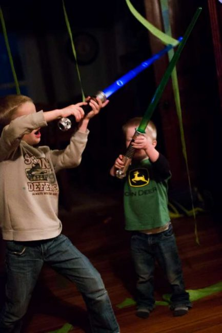 Star Wars Lightsaber activity