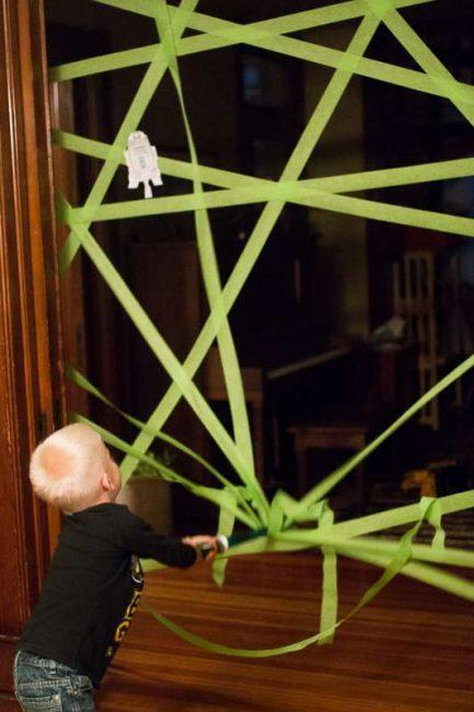 Don't break the web lightsaber activity