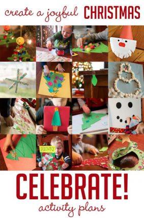 Create a joyful Christmas with activity plans for the holidays