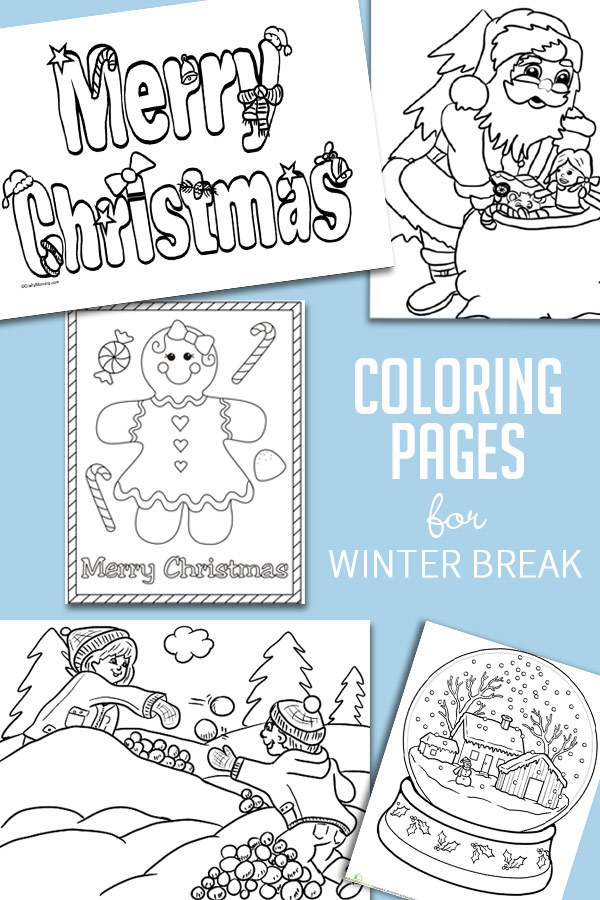 Free Winter Fun Coloring Pages, Download Free Clip Art, Free Clip Art on  Clipart Library | 900x600