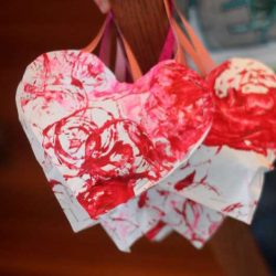 Stuffed Puffy Hearts Craft for Valentine's Day