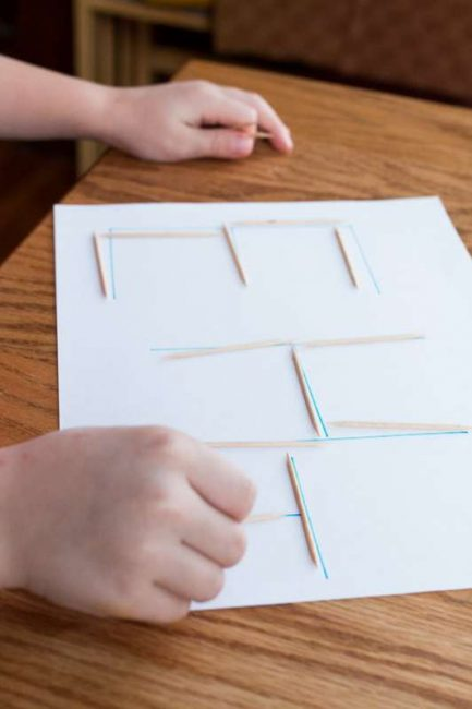 Your kids will fall in love with writing when you use unusual tools, like toothpicks!