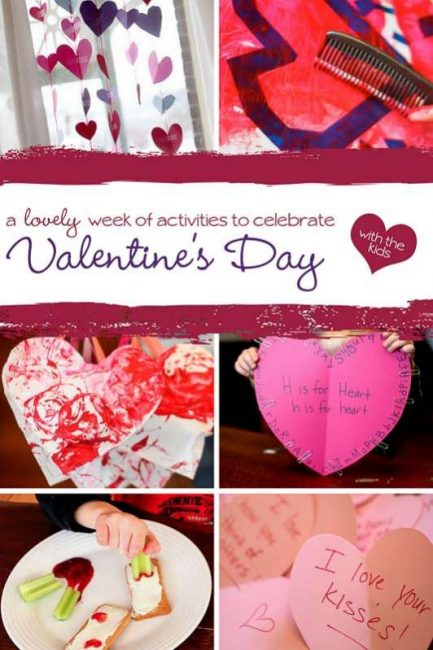 Celebrate all week long with Valentine's Day activities