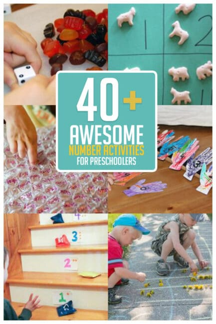 Dive into early learning with 40+ number activities for preschoolers!