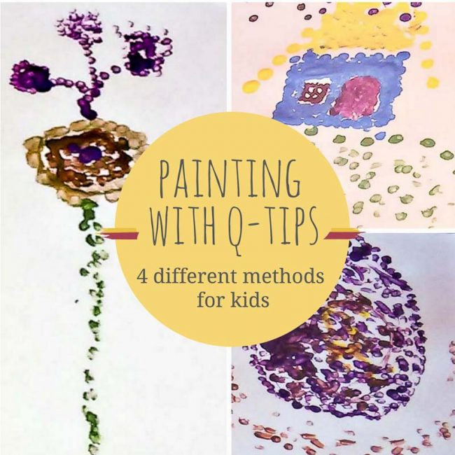 Easy Q Tip Painting Techniques To Take