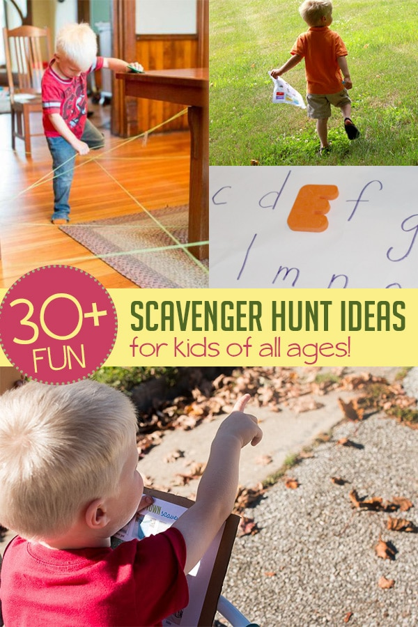 30 Scavenger Hunt Ideas For Kids To Do At Any Age Hoawg