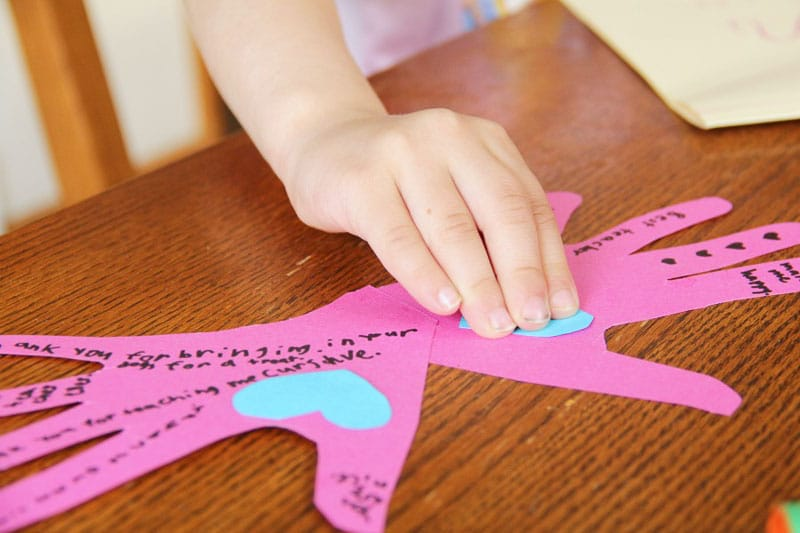 Kids will love to make this butterfly teacher appreciation craft and give it to their teachers at the end of the school year.