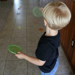Simple Frisbee Toss