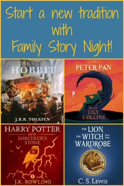 Start a new tradition with Family Story Night