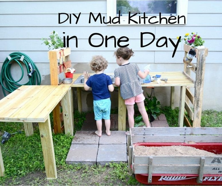 DIY Mud Kitchen in One Weekend