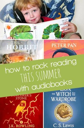 how to rock reading this summer by using audiobooks