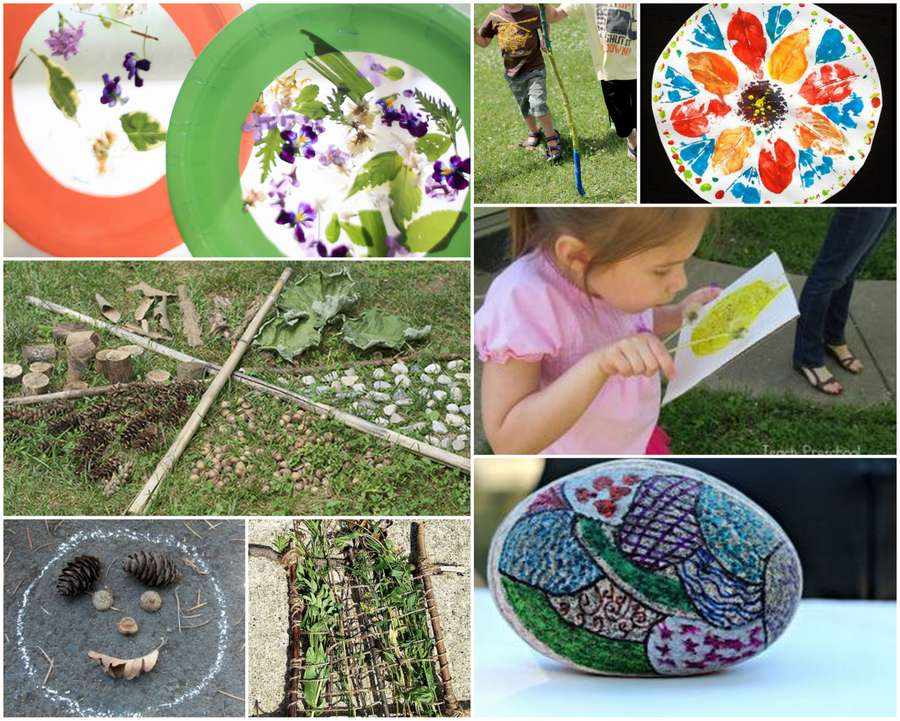 Explore, find new things in nature, get creative in how you use it and just have fun with these simple nature activities for kids to love being outside again!