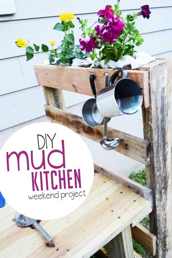 Diy Mud Kitchen In One Weekend Hands On As We Grow
