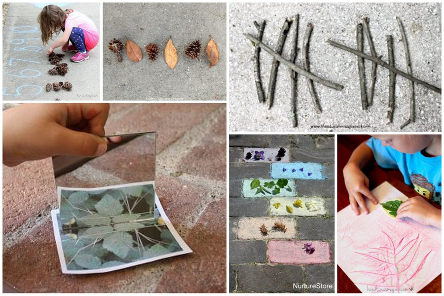 These nature activities are ways to put the oomph in getting outside with your kids! Explore, find new things, get creative and have fun!