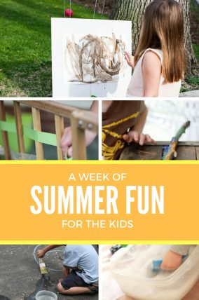Make this week fun filled with summer activities for kids!