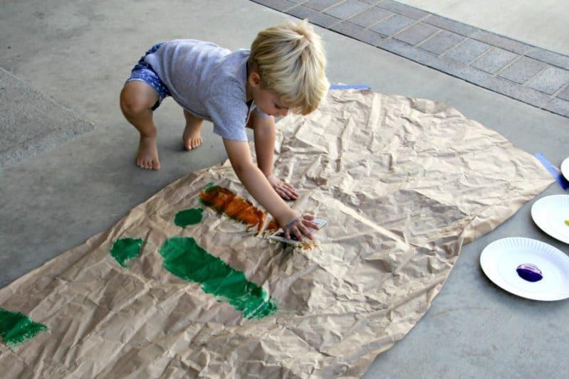 Preschool Big Art Painting