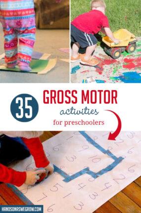 Gross Motor Activities for Preschoolers: The Top 35!