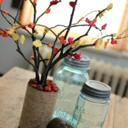 Fall Tree Centerpiece Craft