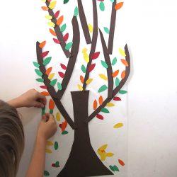 Easy Fall Tree Activity