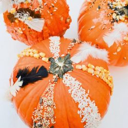 Sensory Pumpkin Decorating