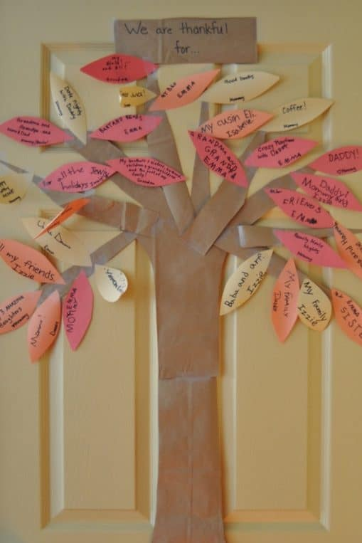This Thanksgiving Thankful Tree is a simple and fun activity to focus on gratitude with your kids.