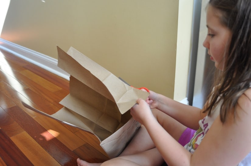 Thanksgiving Gratitude Tree activity has a lot of fine motor cutting practice while getting into the thankful spirit!