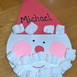 Shape Santa Craft