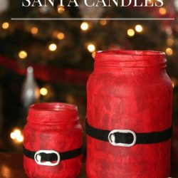 Santa Candles Kids Can Make