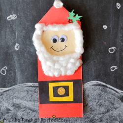 Christmas Santa Craft for Kids