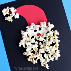 Popcorn Santa Beard