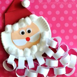 48 Santa Crafts for Kids to Make! Oh-So-Simple! | 250x250