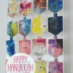Hanukkah Dreidel Wall Art