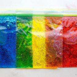 Glitter Water Blob Bags