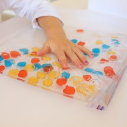 Magnetic Polka Dot Sensory Bag