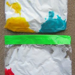 Shaving Cream Color Mixing Bag