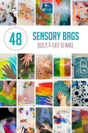 48 Quick and Easy Sensory Bags to Make